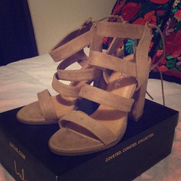 cc921425ac7 Sydney Suede high heel sandal